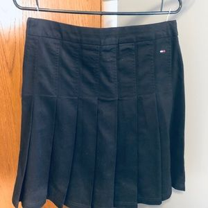Tommy Hilfiger pleated cotton skirt